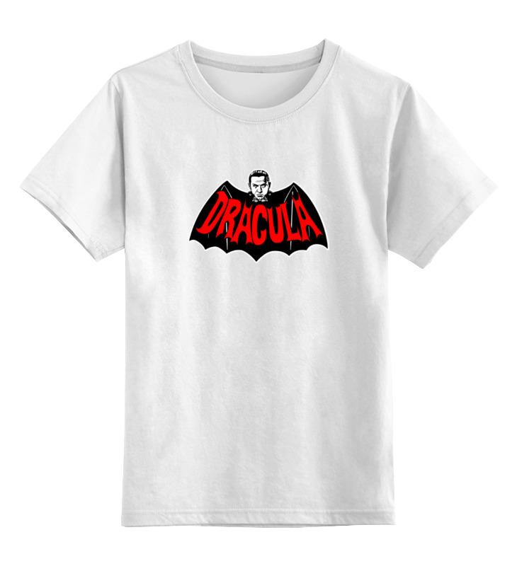 Детская футболка классическая унисекс Printio Дракула дракула