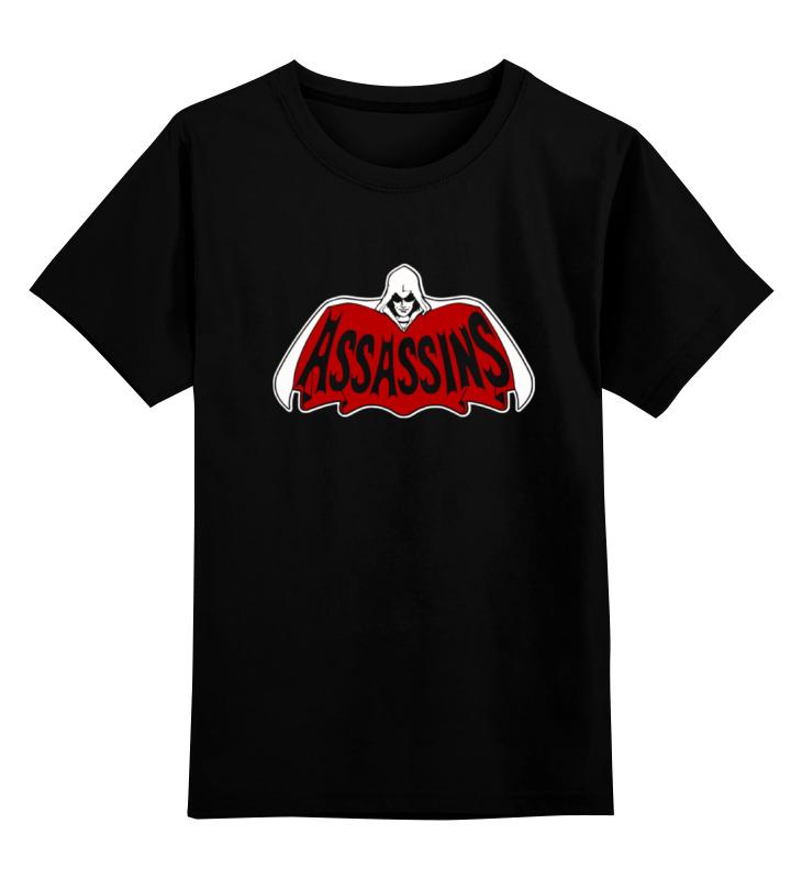 Детская футболка классическая унисекс Printio Assassins x batman лонгслив printio ice king x batman