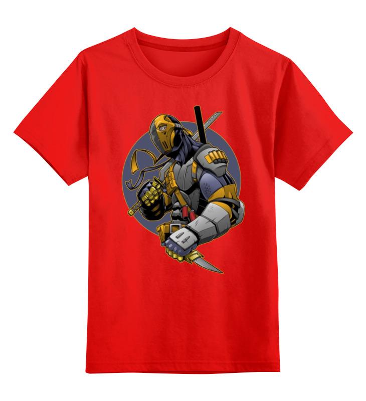 Детская футболка классическая унисекс Printio Супергерой smoby детская горка king size цвет красный