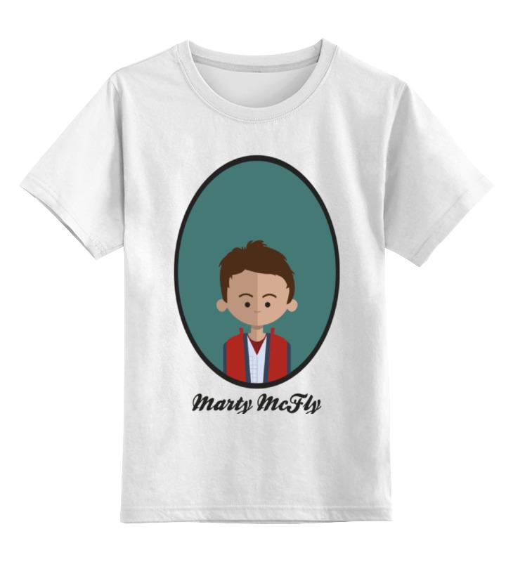 Детская футболка классическая унисекс Printio Марти макфлай детская футболка классическая унисекс printio мачете
