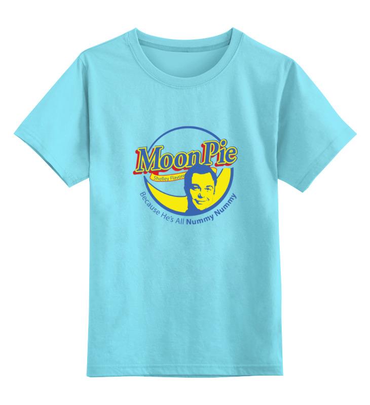 Детская футболка классическая унисекс Printio Шелдон купер (moon pie) футболка стрэйч printio шелдон купер moon pie