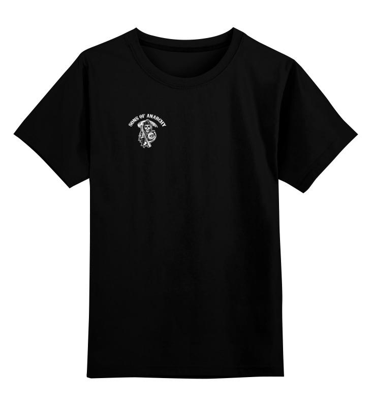Детская футболка классическая унисекс Printio Sons of anarchy t-shirt майка классическая printio sons of anarchy t shirt