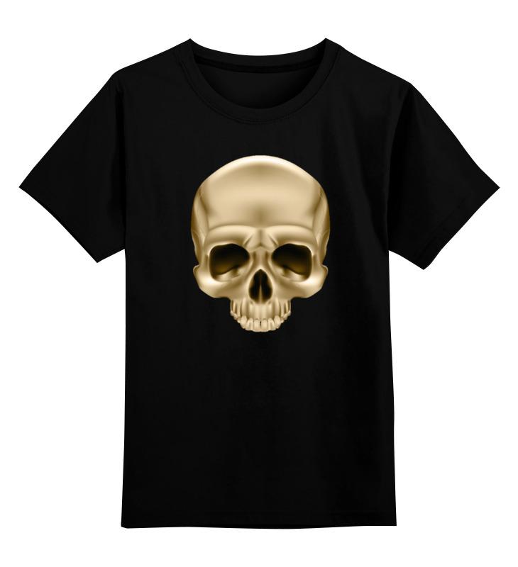 Printio Череп голд футболка классическая printio череп голд
