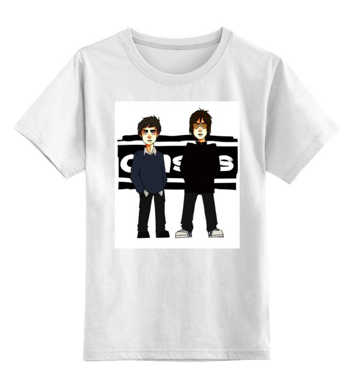 Детская футболка классическая унисекс Printio Oasis