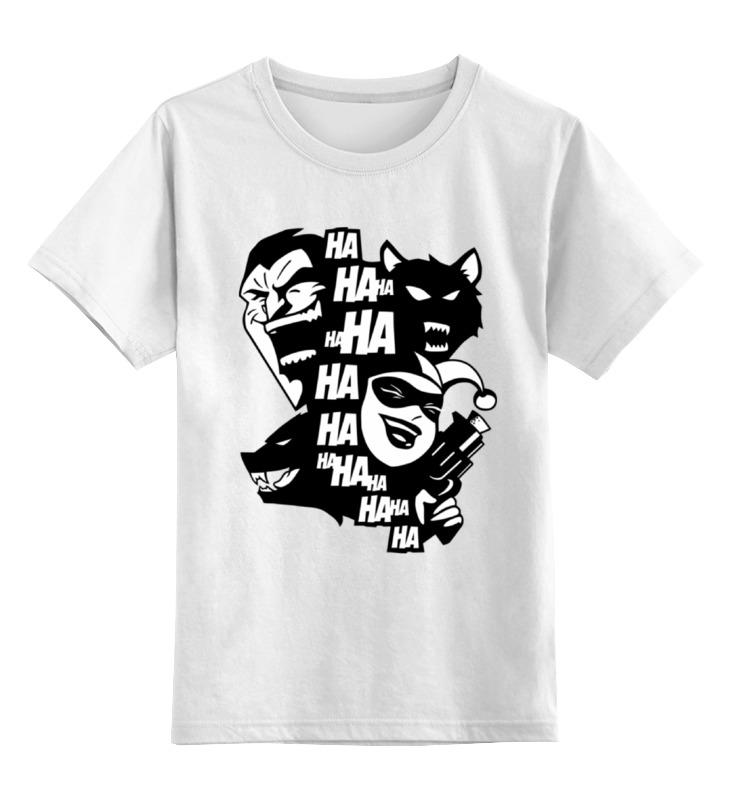 Детская футболка классическая унисекс Printio Джокер и харли квинн (бэтмен) майка классическая printio харли квинн и джокер