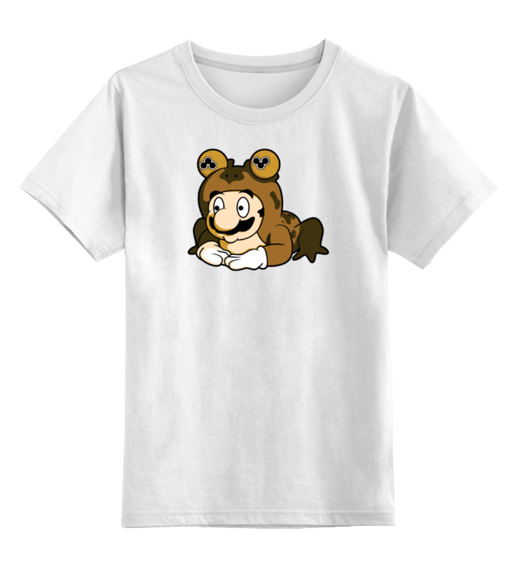 Детская футболка классическая унисекс Printio Марио жаба детская футболка классическая унисекс printio кинг бу марио