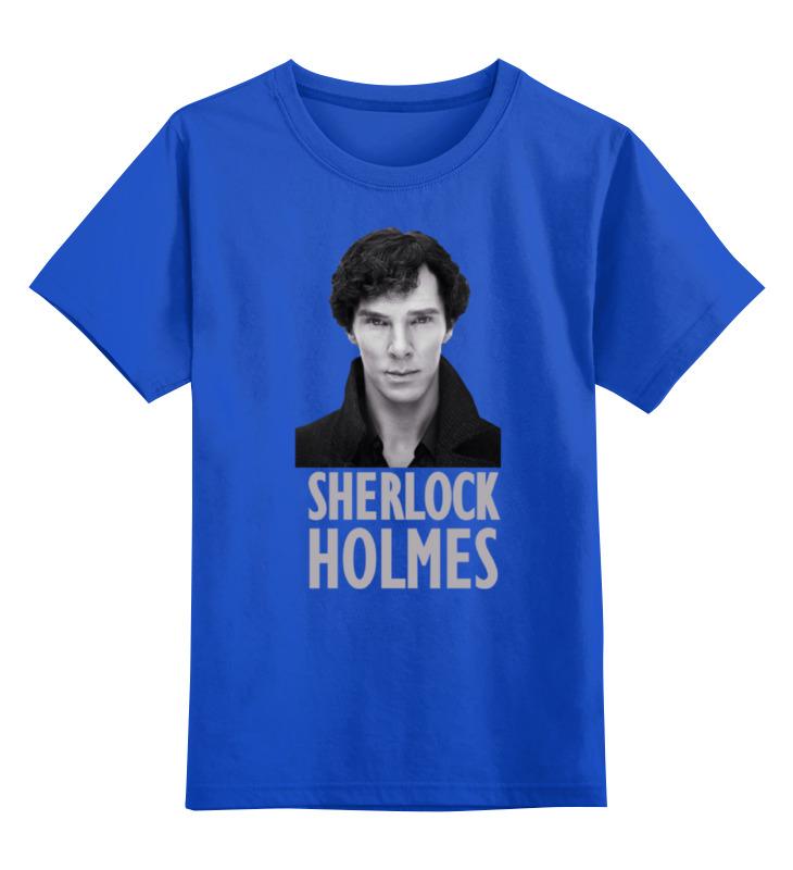 Детская футболка классическая унисекс Printio Sherlock holmes dayle a c the adventures of sherlock holmes рассказы на английском языке