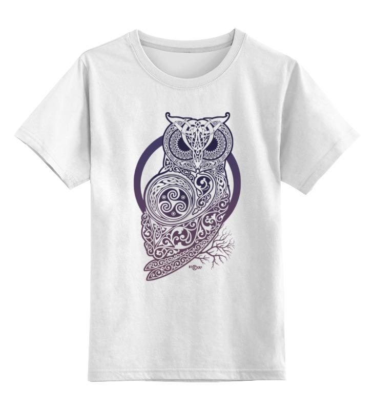 Printio Кельтская сова детская футболка классическая унисекс printio зимняя сова