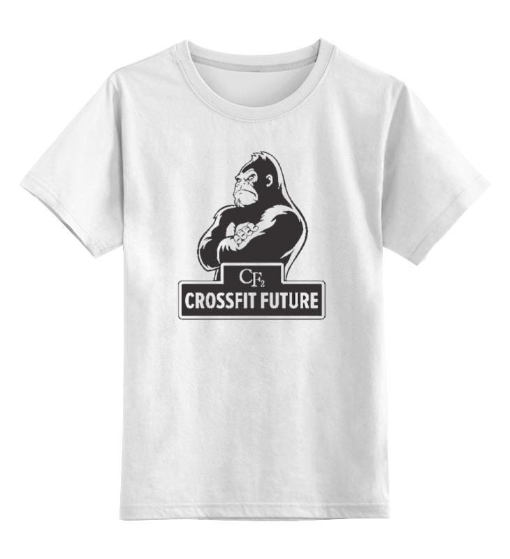 Детская футболка классическая унисекс Printio Crossfit / кроссфит скакалка скоростная proxima crossfit jr 7001 r red