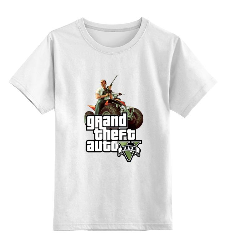 Детская футболка классическая унисекс Printio Gta 5 trevor футболка классическая printio gta 5 dog