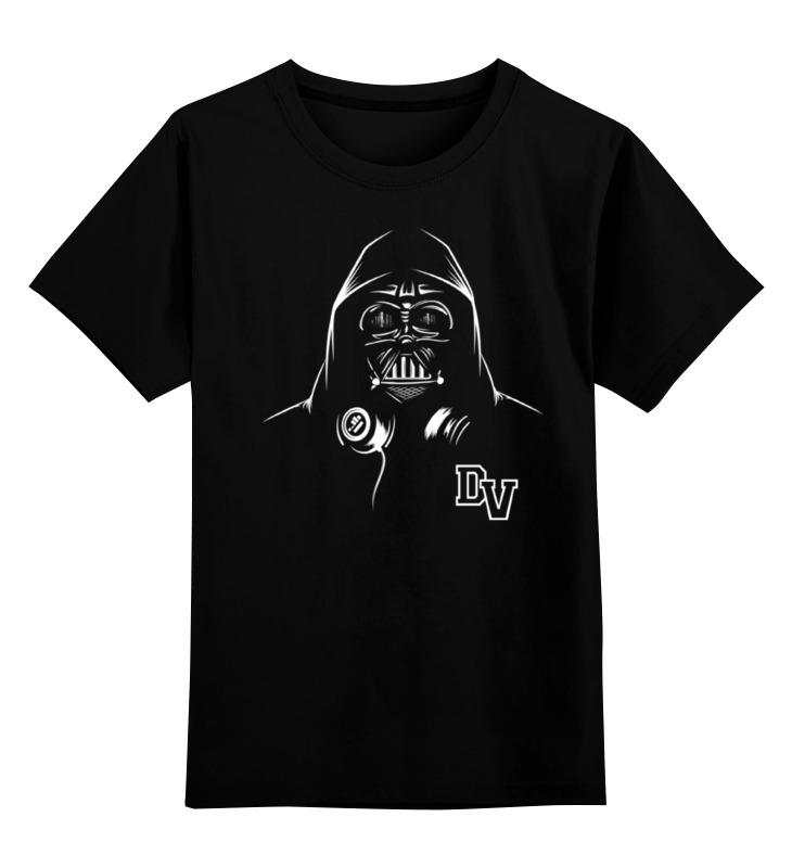Детская футболка классическая унисекс Printio Дарт вейдер starwars тарелка детская звёздные войны дарт вейдер диаметр 19 5 см
