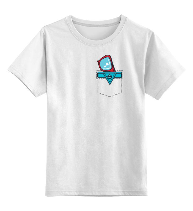 Детская футболка классическая унисекс Printio Очки в кармане стоимость