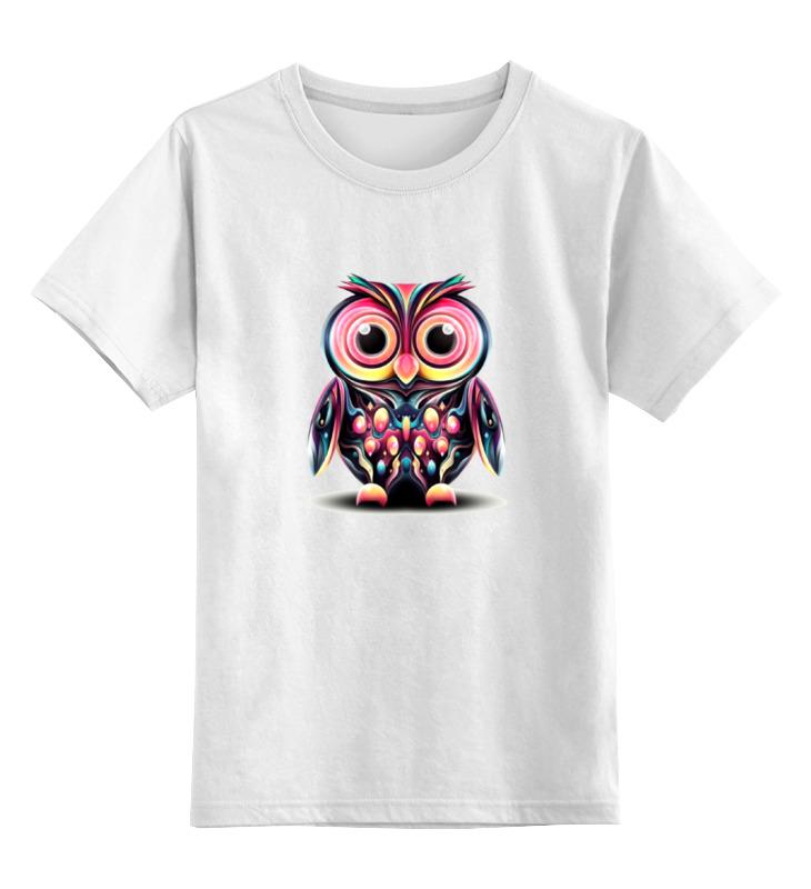 Детская футболка классическая унисекс Printio Арт сова детская футболка классическая унисекс printio арт сова