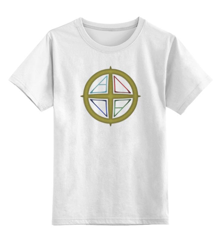 Детская футболка классическая унисекс Printio 5 элементов детская футболка классическая унисекс printio html 5