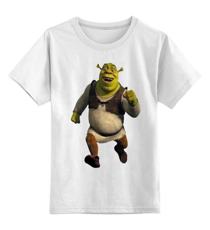 Детская футболка классическая унисекс Printio Шрэк 2