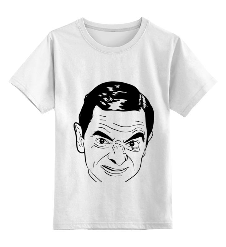 Детская футболка классическая унисекс Printio Футболка мистер бин футболка унисекс