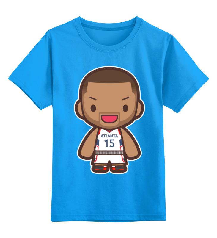 Детская футболка классическая унисекс Printio Эл хорфорд (атланта хокс)