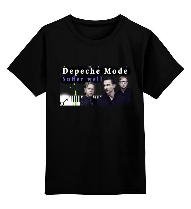 Детская футболка классическая унисекс Printio Depeche mode детская футболка классическая унисекс printio well nobody's perfec