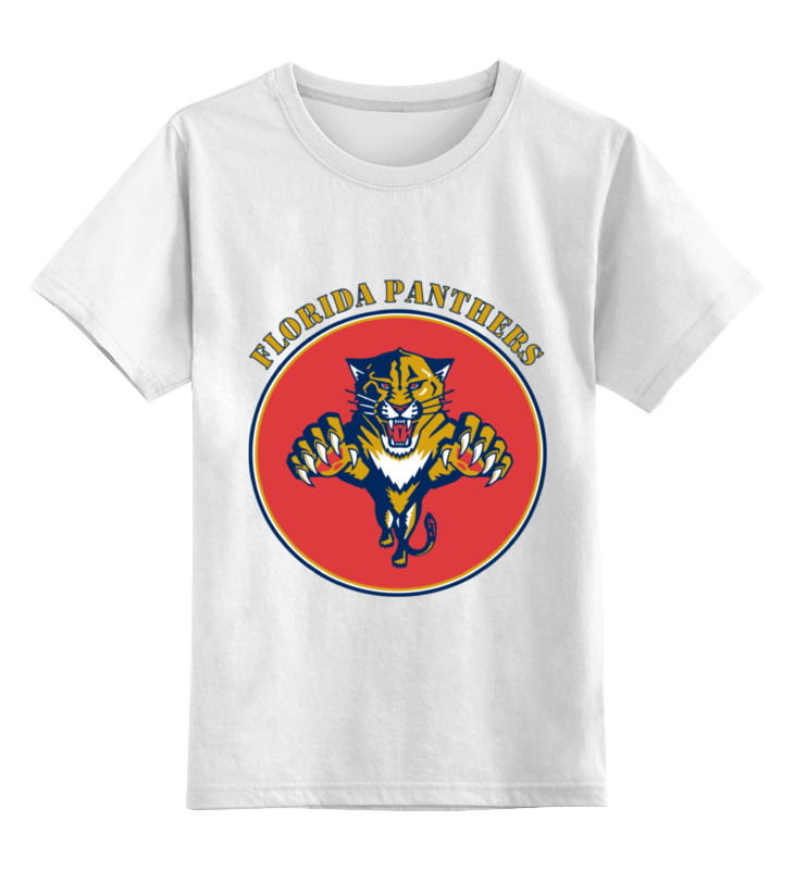 Детская футболка классическая унисекс Printio Флорида пантерс