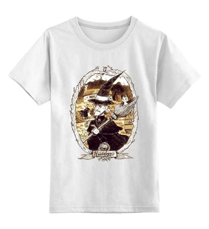 Детская футболка классическая унисекс Printio Злой колдун футболка классическая printio злой колдун