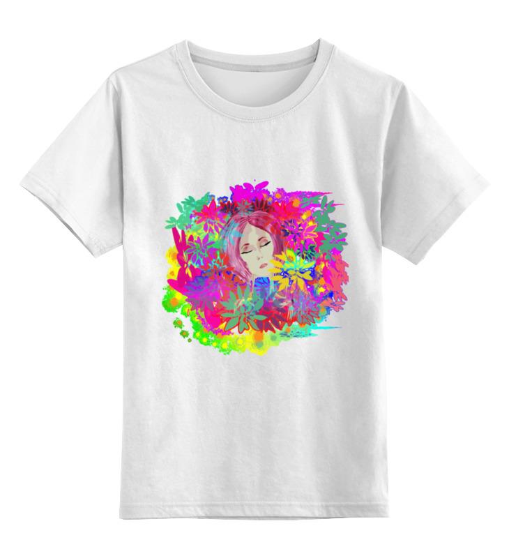 Детская футболка классическая унисекс Printio Пиона теплый пол теплолюкс profimat160 8 0