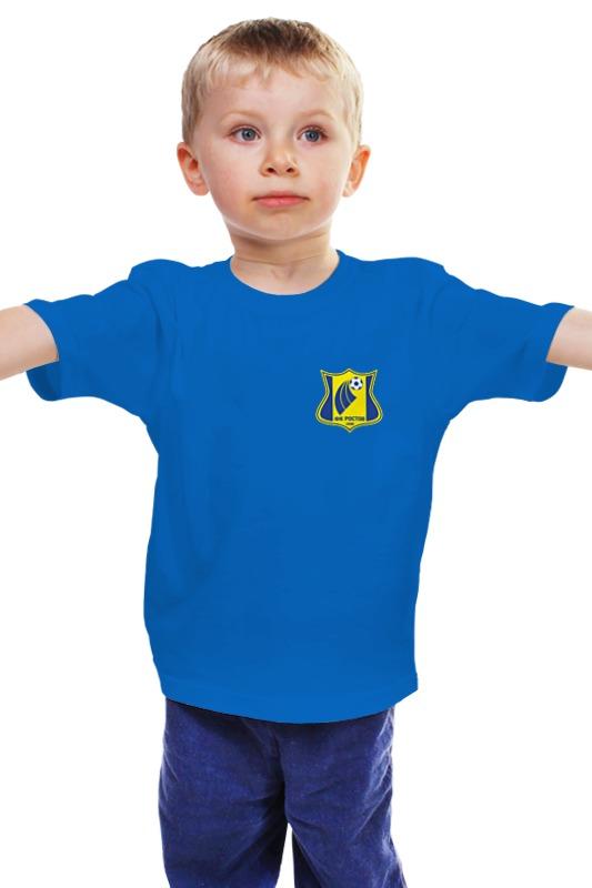 Детская футболка классическая унисекс Printio Фк ростов ancestry в ростовской области