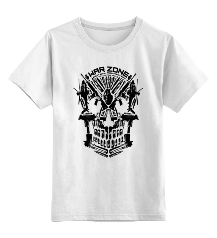 лучшая цена Детская футболка классическая унисекс Printio War zone