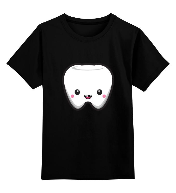 Детская футболка классическая унисекс Printio Tooth / зуб