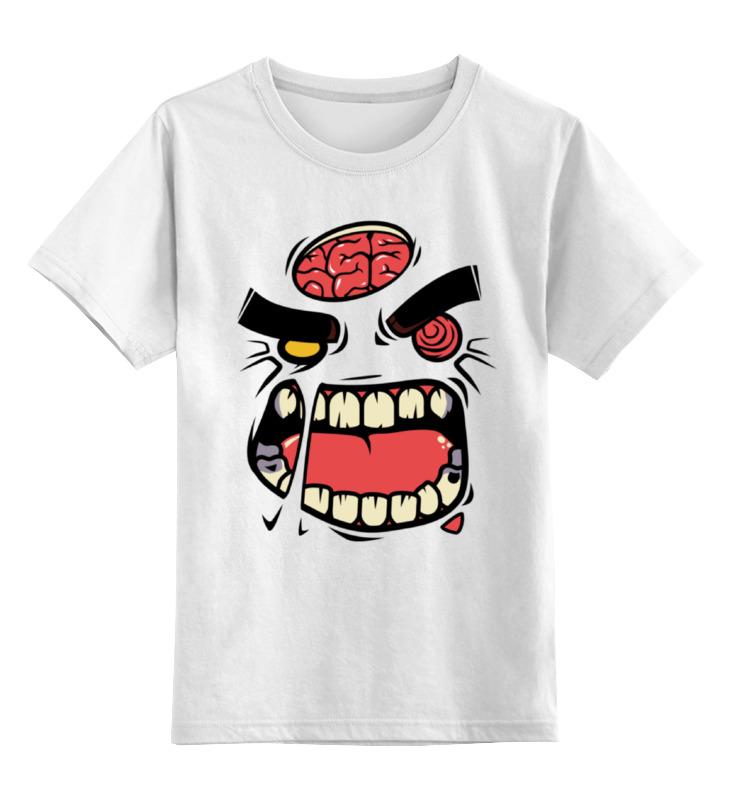 Printio Монстр (зомби) детская футболка классическая унисекс printio монстр