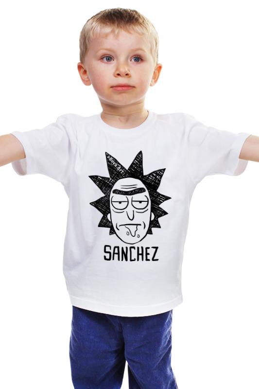 Детская футболка классическая унисекс Printio Рик санчес о санчес суть óстрова
