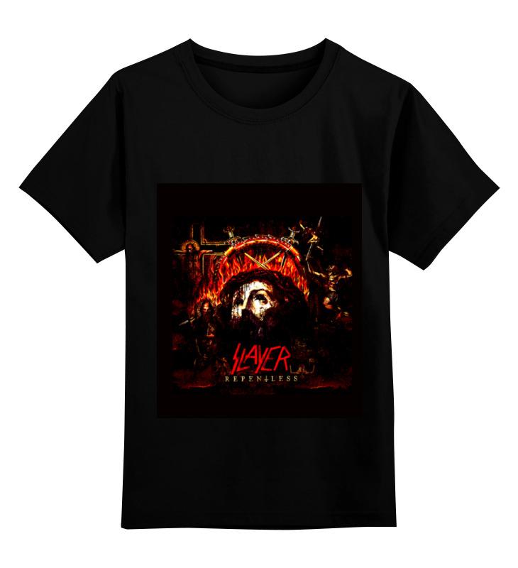 Детская футболка классическая унисекс Printio Slayer repentless 2015 футболка с полной запечаткой мужская printio slayer repentless 2015 3