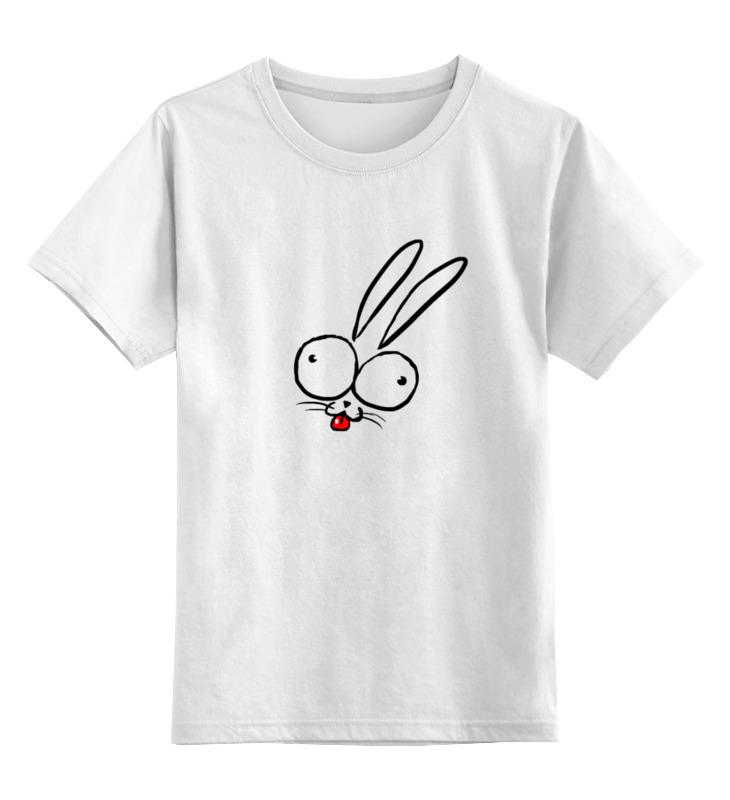 Детская футболка классическая унисекс Printio Зайчик))) детская футболка классическая унисекс printio мачете
