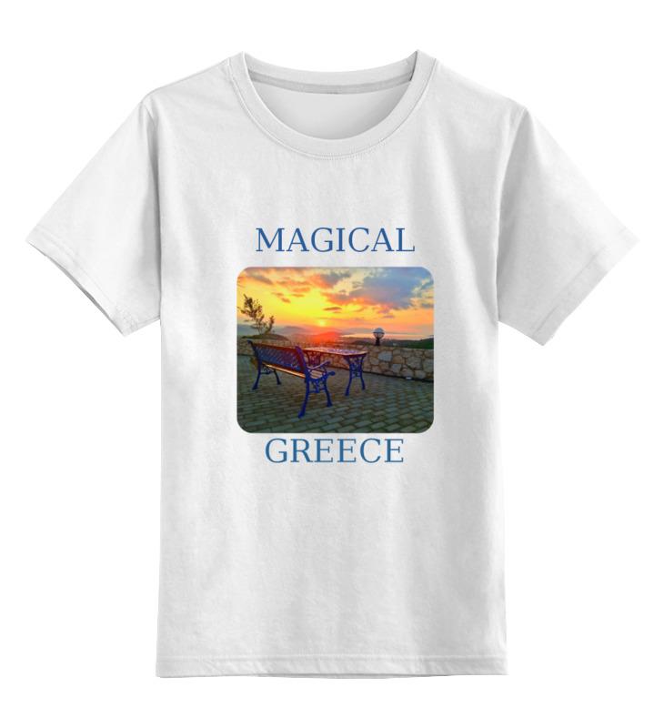 Детская футболка классическая унисекс Printio Магическая греция белье gezanne шорты магическая волна l