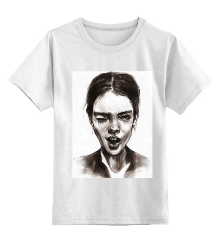 Детская футболка классическая унисекс Printio Flirt girl лонгслив printio flirt