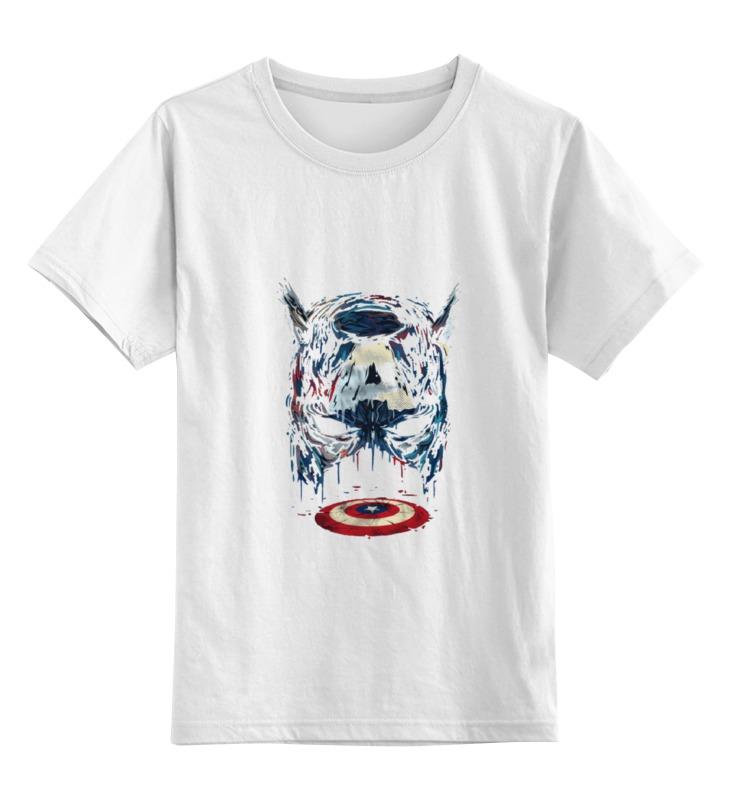 Детская футболка классическая унисекс Printio Cap a новая запись студийный микрофон ветер экрана поп фильтр маска щит гибкая