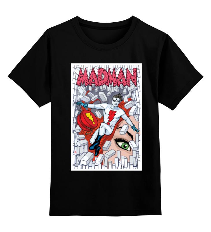 Детская футболка классическая унисекс Printio Madman футболка классическая printio авто уаз