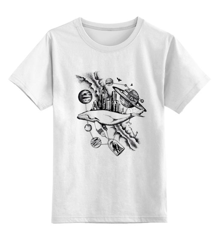 Детская футболка классическая унисекс Printio The megapolis whale детская футболка классическая унисекс printio the undertaker
