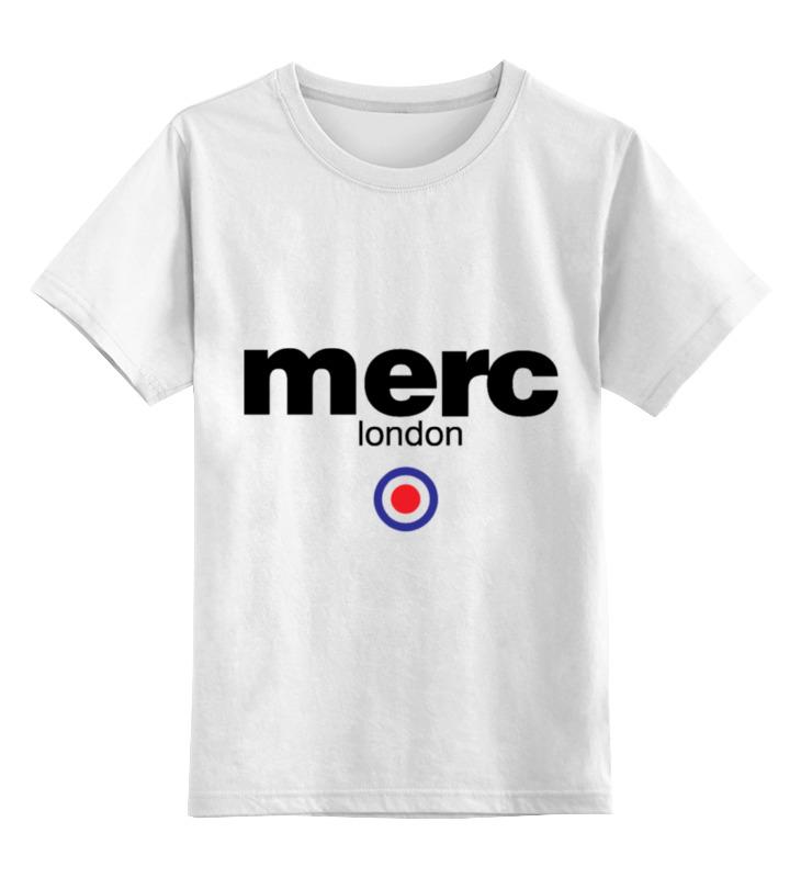 Детская футболка классическая унисекс Printio Merc london футболка merc merc me001emreh19