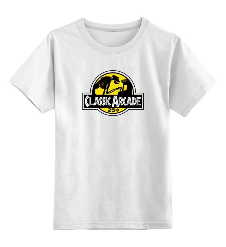 Детская футболка классическая унисекс Printio Классическая аркада детская футболка классическая унисекс printio рыбка