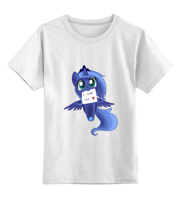 Детская футболка классическая унисекс Printio My little pony: princess luna the pony mad princess princess ellie s christmas