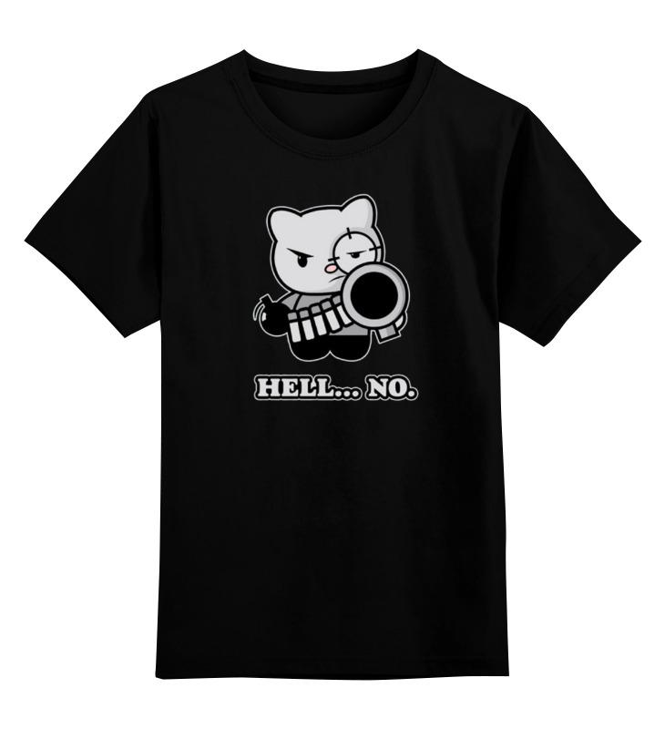 Детская футболка классическая унисекс Printio Bad cat