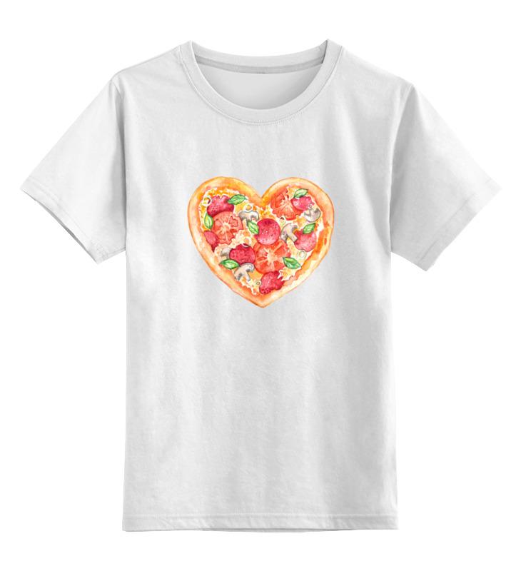 Printio Пицца это любовь футболка это