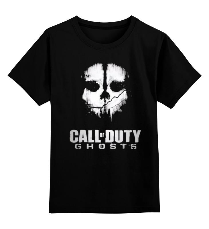 Детская футболка классическая унисекс Printio Call of duty: ghosts a bush of ghosts футболка