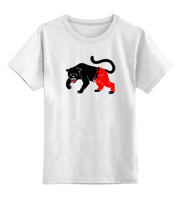 Детская футболка классическая унисекс Printio Чёрная пантера детская футболка классическая унисекс printio розовая пантера