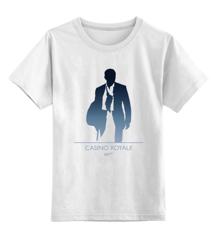 Детская футболка классическая унисекс Printio 007: казино «рояль» лонгслив printio 007 казино рояль
