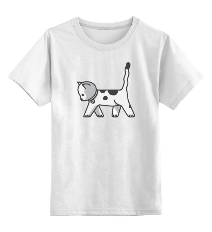 Детская футболка классическая унисекс Printio Котенок sbart upf50 rashguard 2 bodyboard 1006