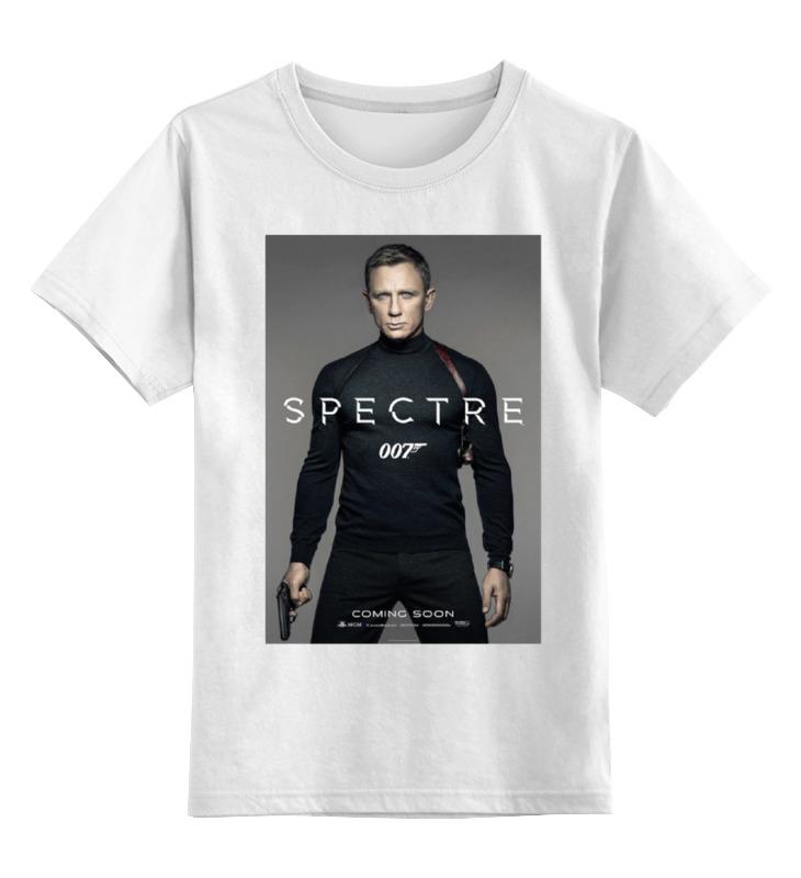 Детская футболка классическая унисекс Printio Bond 007 / spectre детская футболка классическая унисекс printio 007 золотой глаз