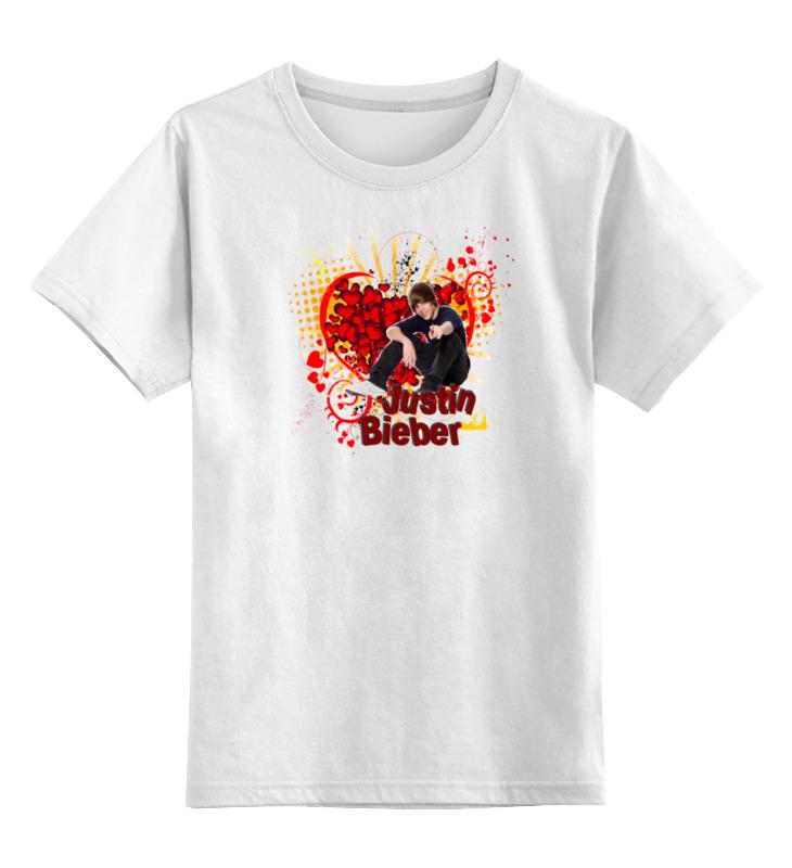 Детская футболка классическая унисекс Printio Justin bieber детская футболка классическая унисекс printio justin bieber