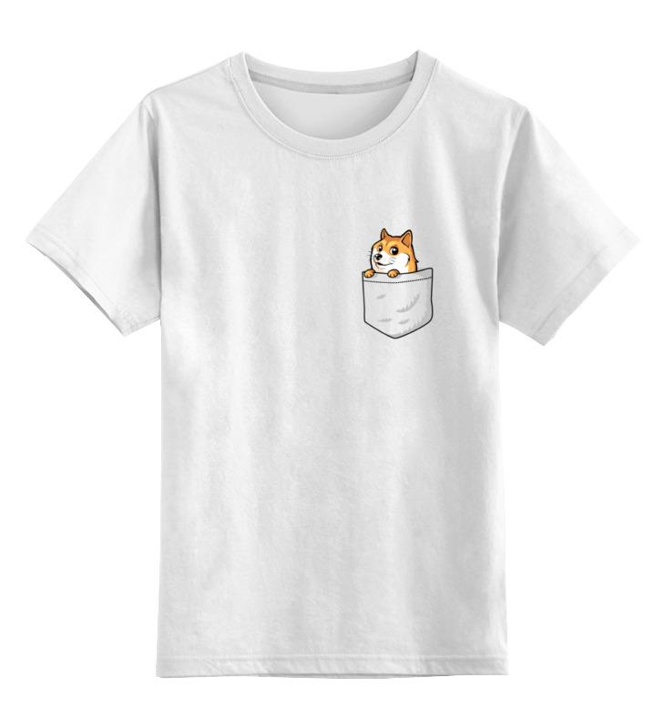 Детская футболка классическая унисекс Printio Little dog детская парта little