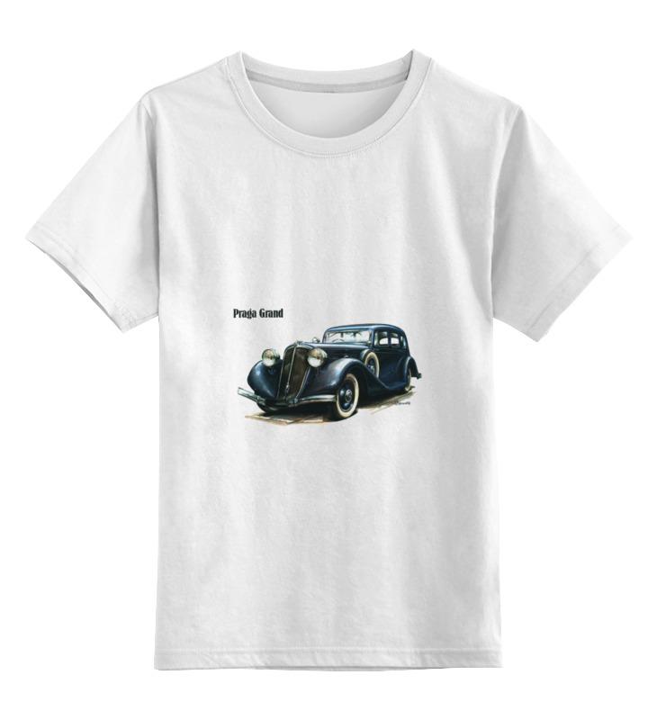 Детская футболка классическая унисекс Printio Ретроавтомобили 4 цена и фото